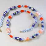 Marde Gillespie, Blue & Red Necklace
