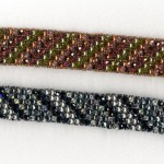 Shannon Nelson, Right Angle Weave Bracelets